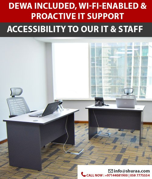 Office for Rent in Dubai 1