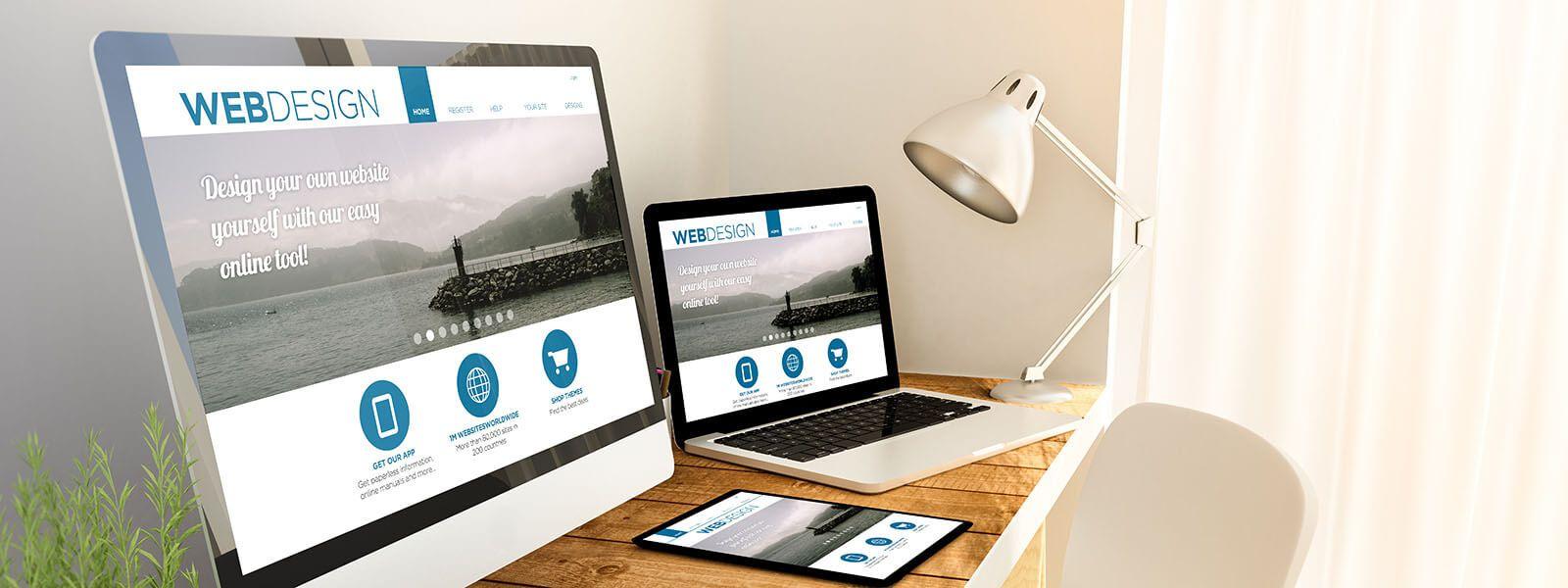 get a professional business website