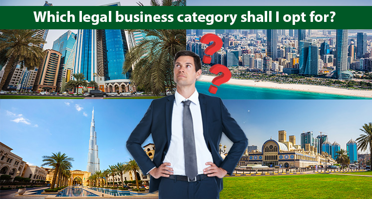 Which legal business category shall I opt for?