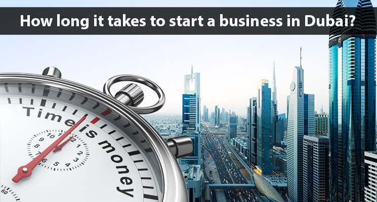 How long does it take to start a new business in Dubai?
