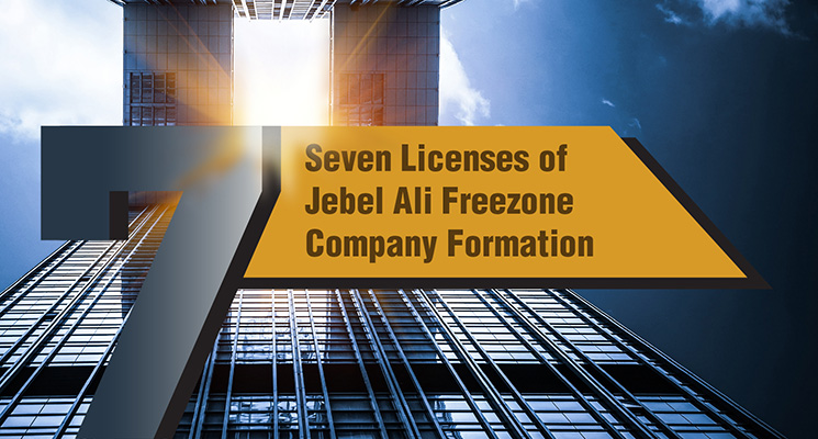 Seven Licenses of Jebel Ali Freezone
