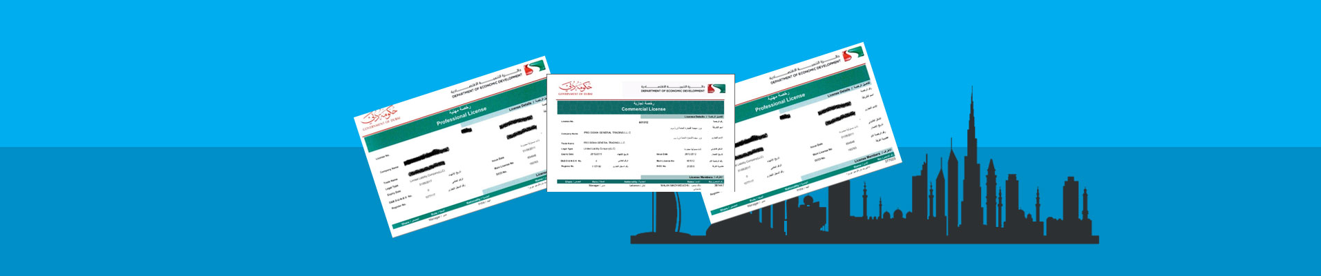 Trade License Dubai | Commercial and Professional License in