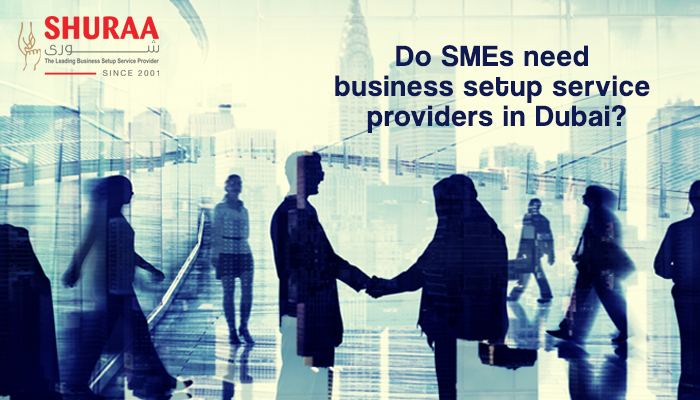 Do SMEs need business setup service providers in Dubai?