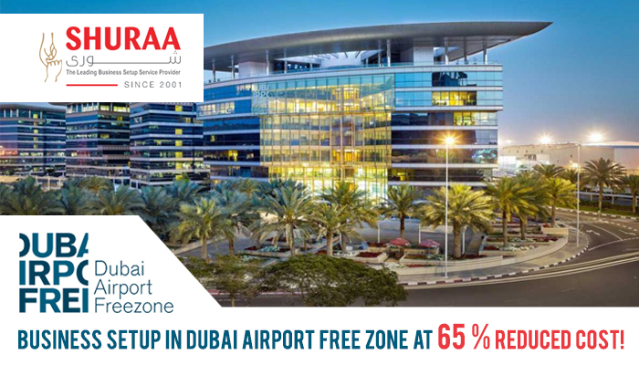 Business setup in Dubai Airport Free zone at 65 percent reduced cost!