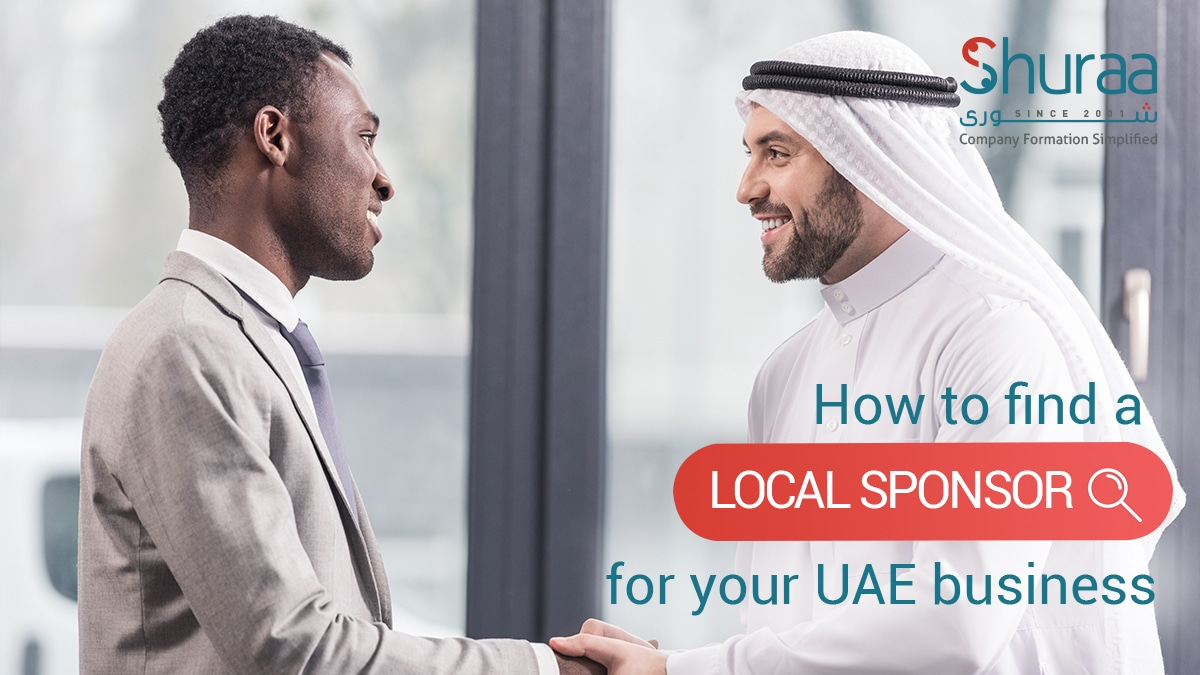 Local Sponsor for your business in dubai