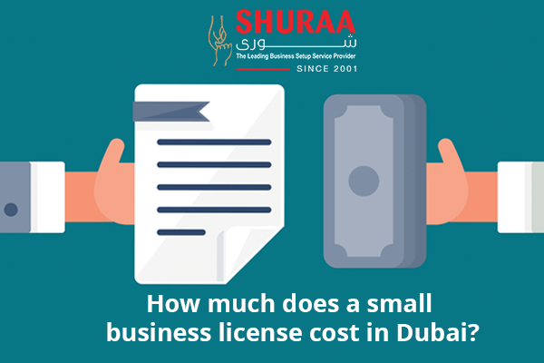 How much does a small business license cost in Dubai?