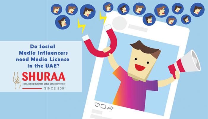 Does a social media influencer need a media license in the UAE?