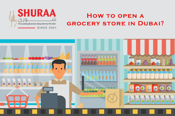 How to open a grocery store in Dubai?