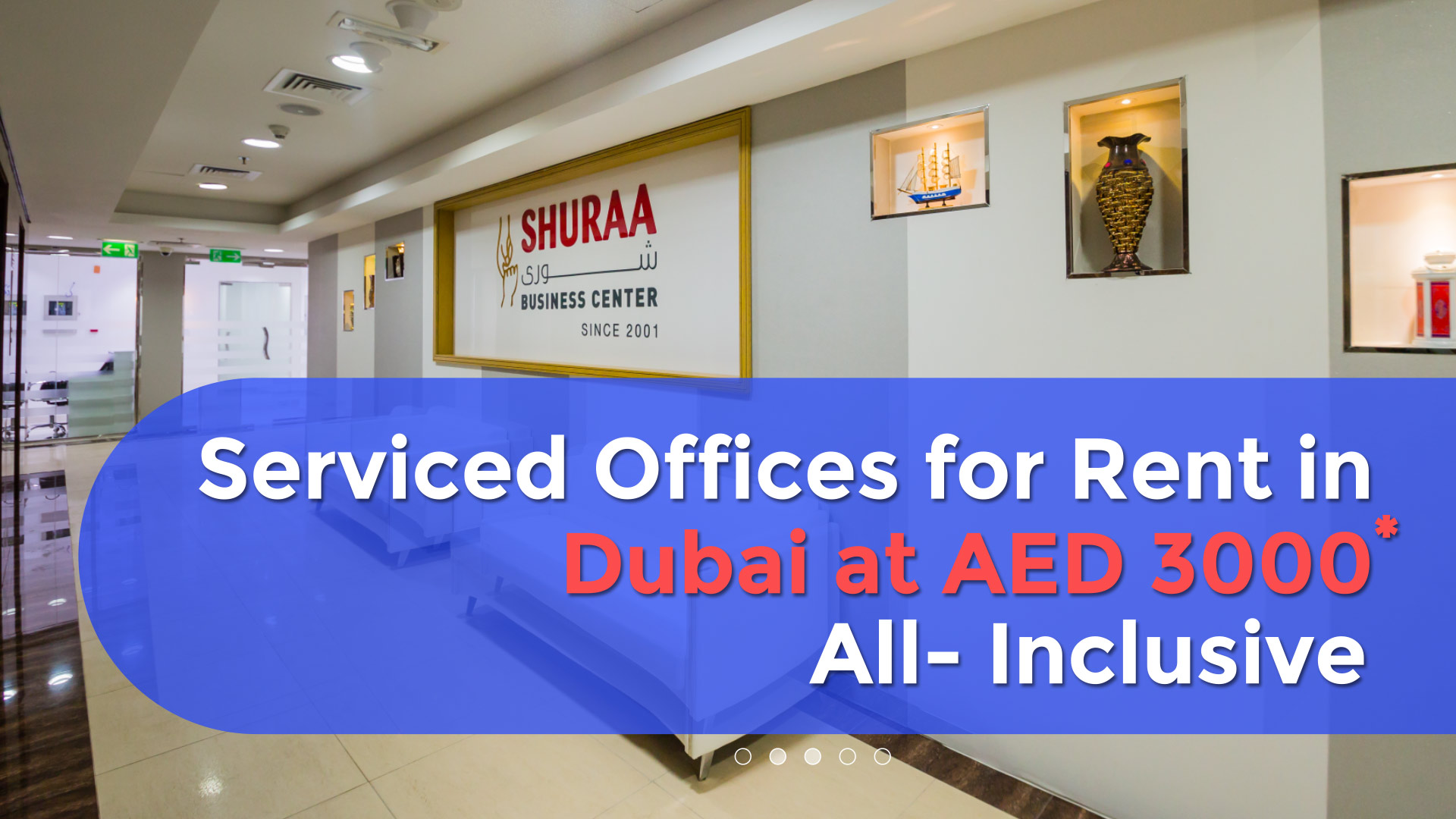 Rent an office in Dubai with Shuraa Business Setup