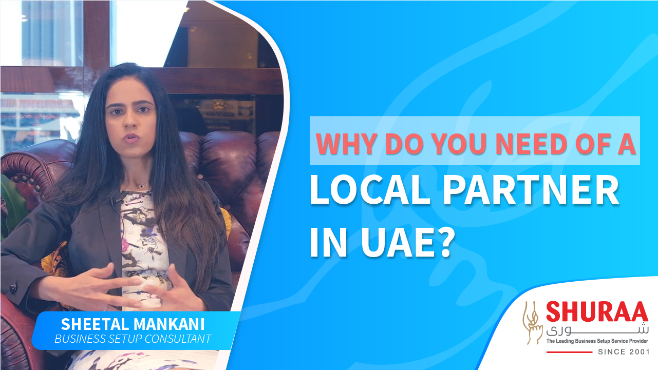 Why do you need of a local partner in UAE?