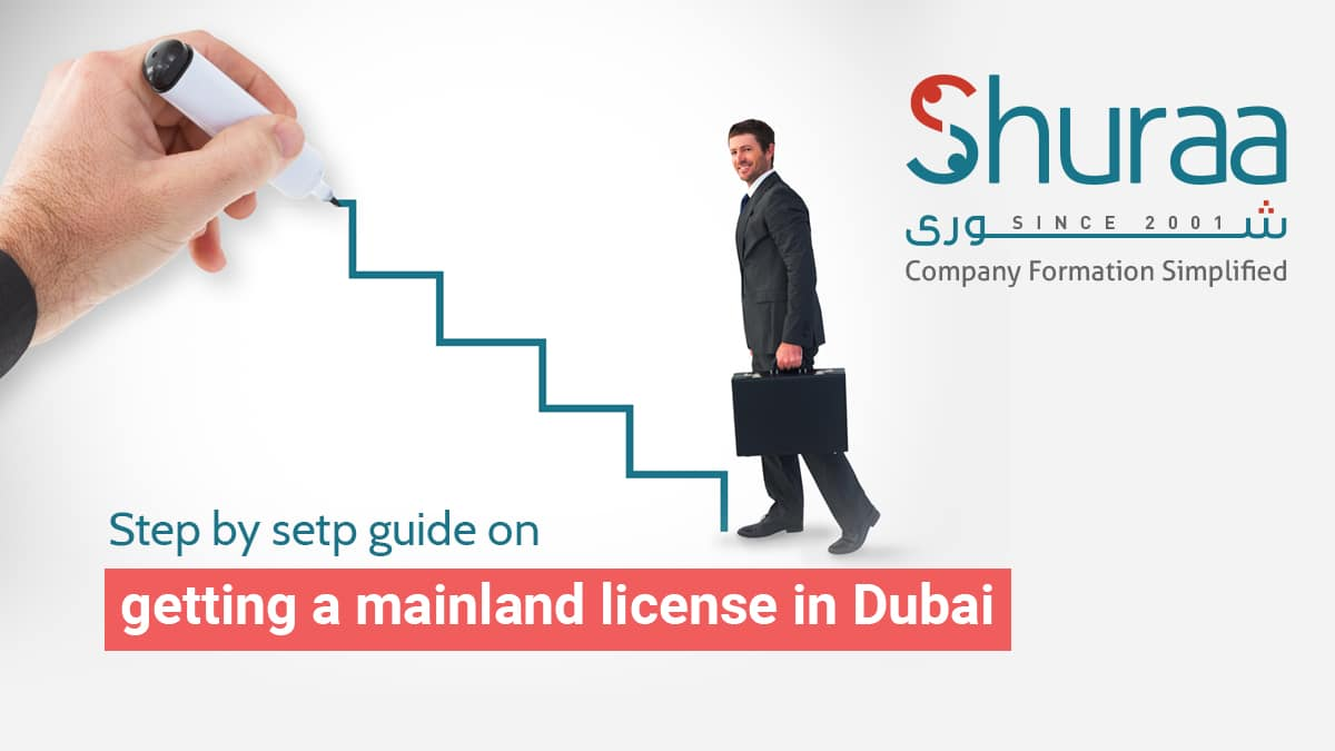 STEP BY STEP GUIDE ON GETTING A MAINLAND LICENSE IN DUBAI
