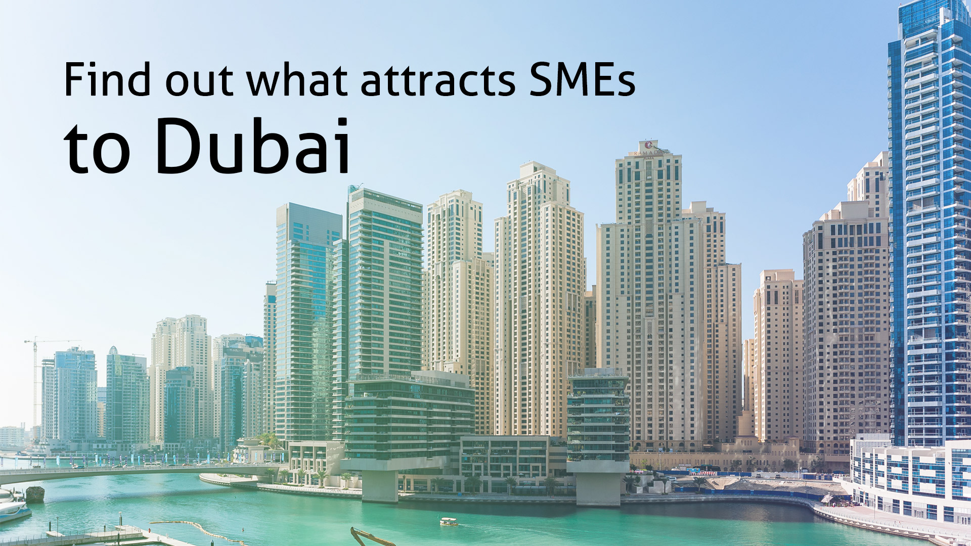 Find out what attracts SMEs in Dubai