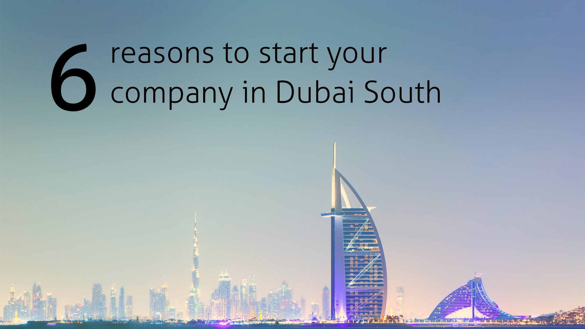6 reasons to start your company in Dubai south freezone