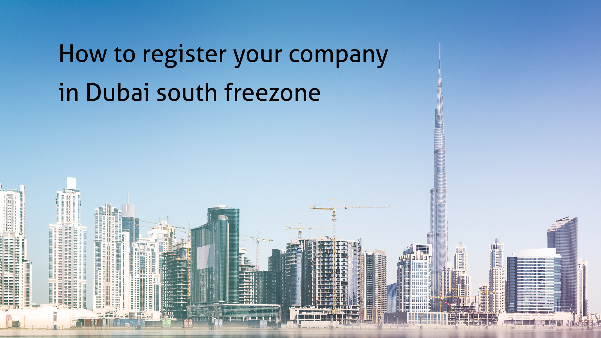 How to register your company in Dubai south freezone