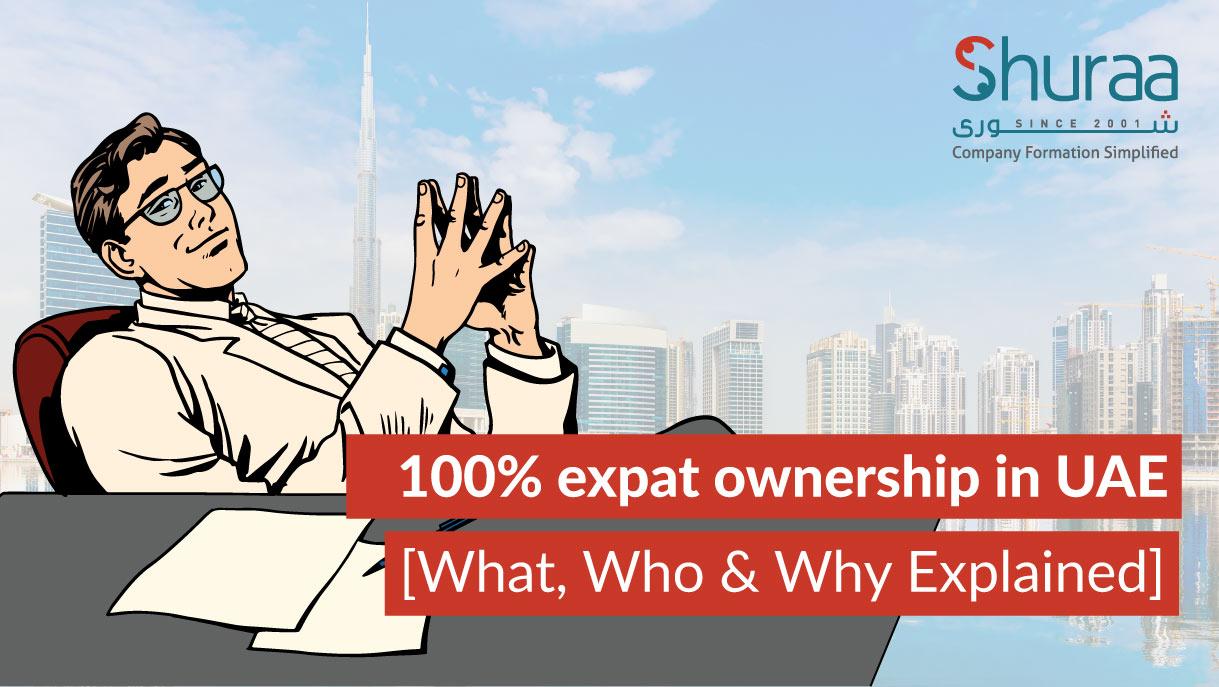 100% expat ownership in uae