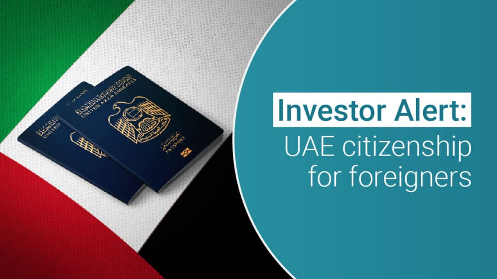 uae citizenship for foreigners