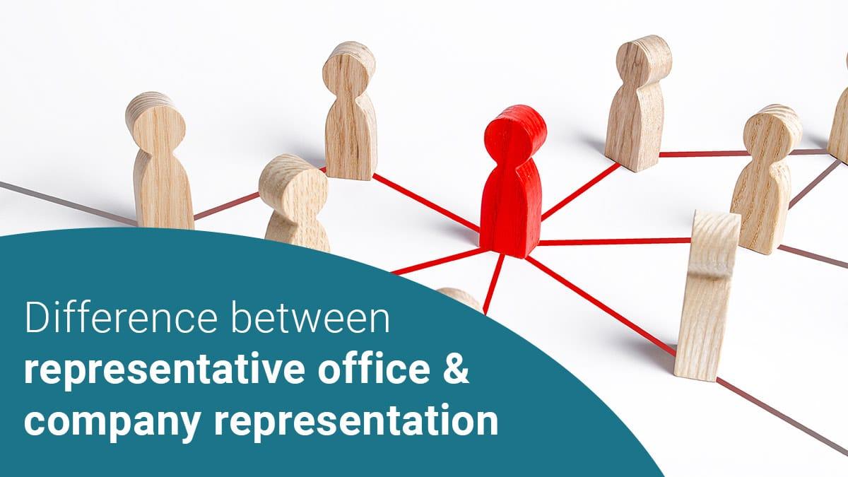 representative office vs office representation