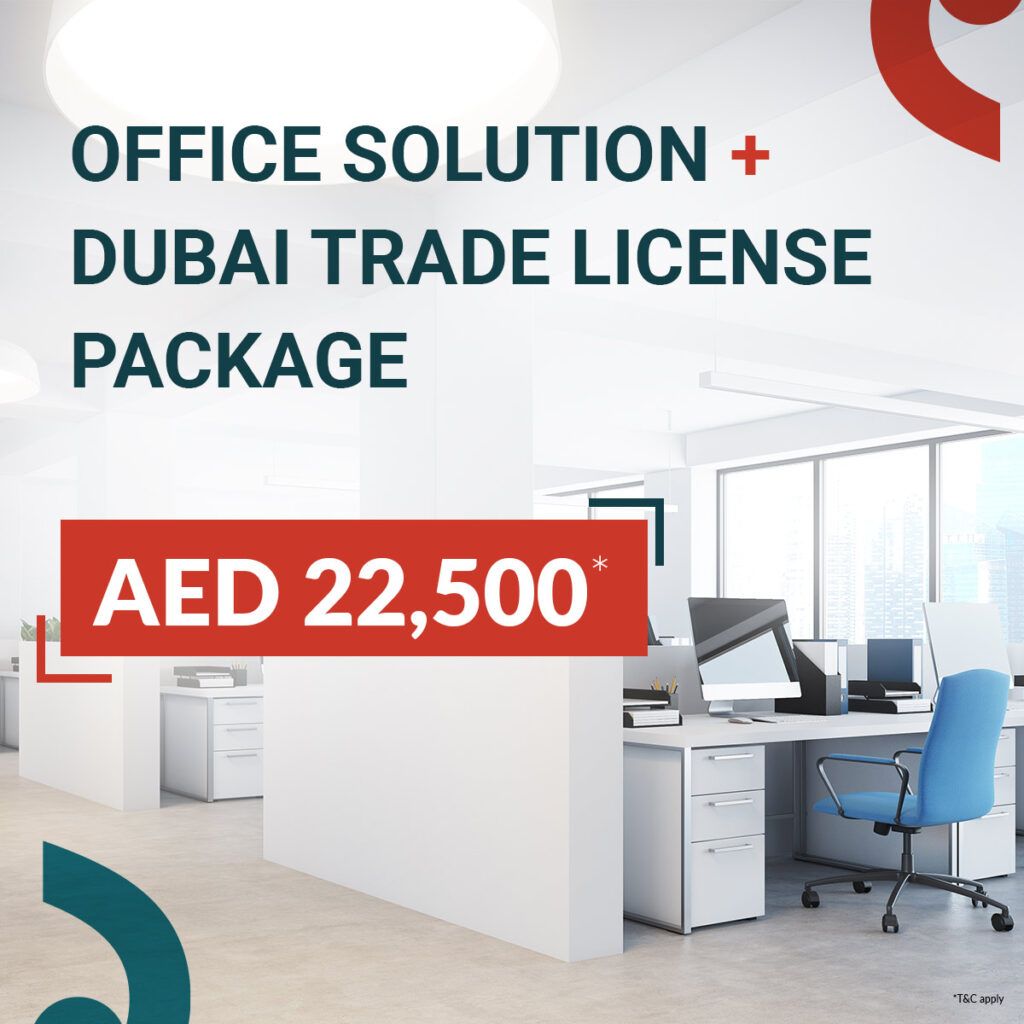 Office Solution + Dubai Trade License Package