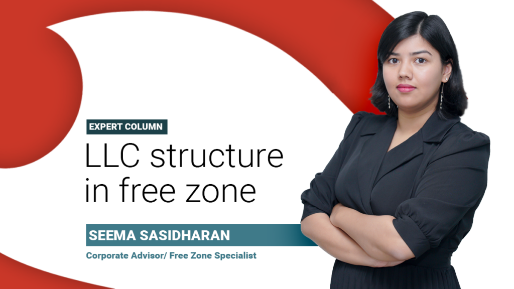 LLC structure in a free zone