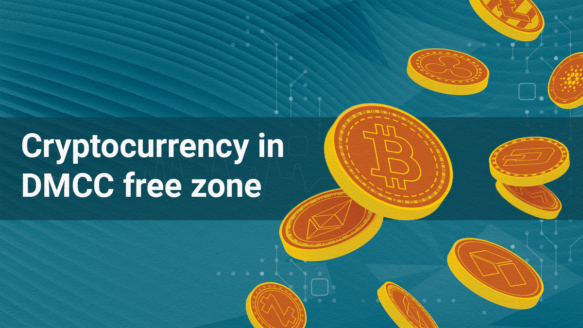 Cryptocurrency in DMCC free zone