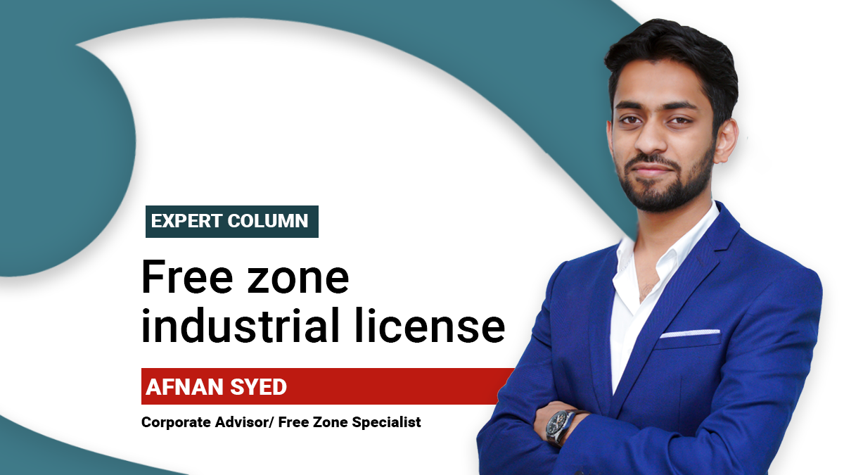 Free Zone Industrial License - A detailed guide