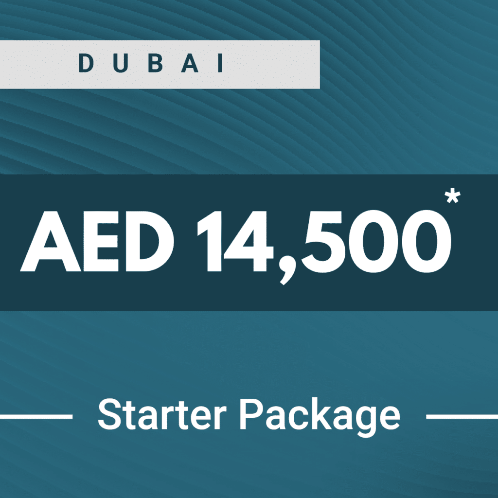 Dubai business setup starter package