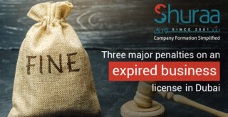 Three major penalties on an expired business license in Dubai